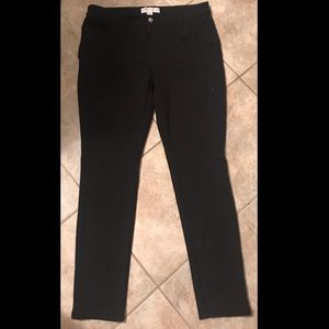 Women's Michael Kors Stretch MK Logo Skinny Pants